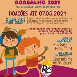 RC Livramento lança Campanha de Agasalhos 2021