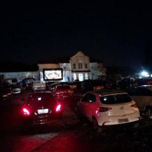 Drive-in Cine Estação acontecerá no próximo domingo