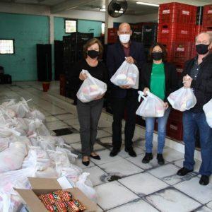 Ceasa distribui mais de 15 toneladas de alimentos em dia de campanha de combate à fome