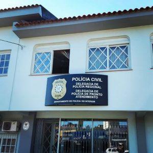 Após reforma, prédio da Polícia Civil em Livramento conta com nova placa