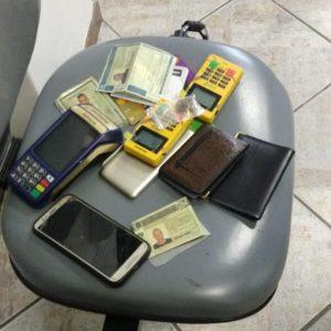 Brigada Militar prende acusados de aplicar o golpe do cartão de crédito