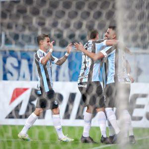 Grêmio goleia o Aragua por 8 a 0 e segue líder do grupo na Sul-Americana