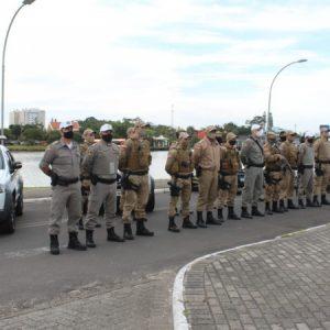 Brigada Militar e PM de Santa Catarina realizam Operação Integrada na divisa dos estados