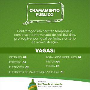 Secretaria Municipal de Educação anuncia Chamamento Público