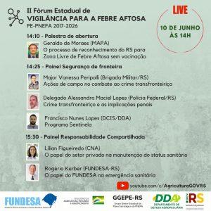 Vigilância de fronteira e participação do produtor na pauta do II Fórum da Febre Aftosa