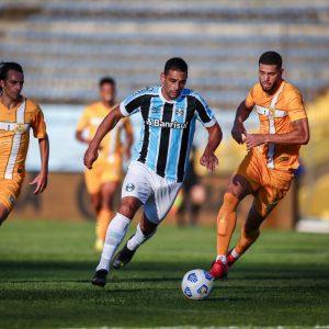 Grêmio empata com o Brasiliense e classifica à próxima fase da Copa do Brasil