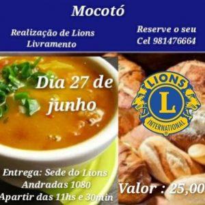 Lions Clube promove mocotó