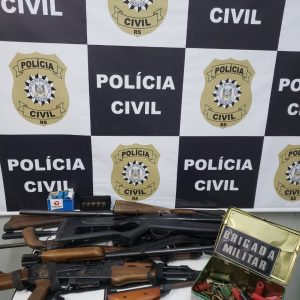 Operação da Polícia Civil resulta na detenção de dois homens