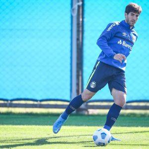Grêmio finaliza preparativos para enfrentar o Corinthians