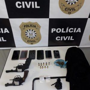 Polícia Civil confirma prisão de membros de organização criminosa