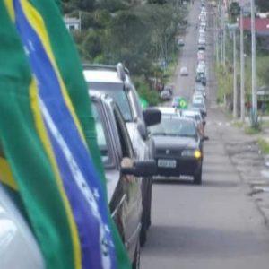 Santanenses realizarão carreata em apoio ao presidente Bolsonaro