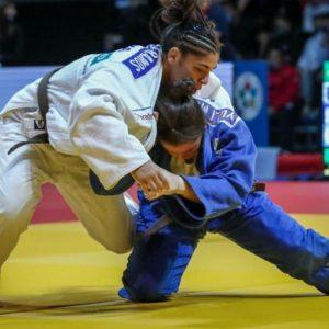 Eliza Ramos ganha outro bronze para o Brasil no Mundial Júnior de Judô