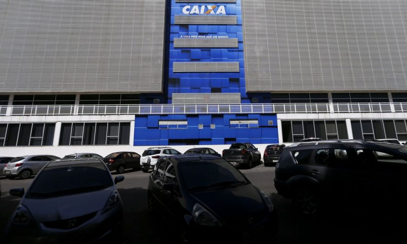 Brasília: Prédio da Caixa Econômica Federal.  (Foto: Marcelo Camargo/Agência Brasil)