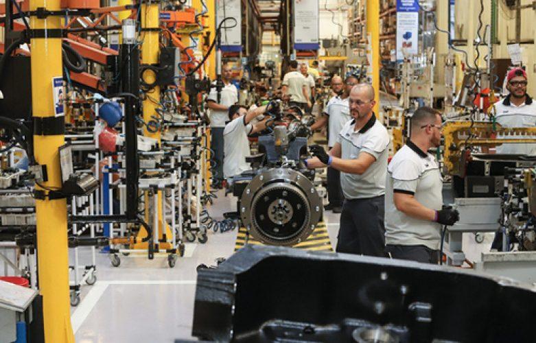 Governador Carlos Massa Ratinho Junior durante visita a fábrica da New Holland. - Curitiba, 25/05/2019 - Foto: Rodrigo Félix Leal/ANPr