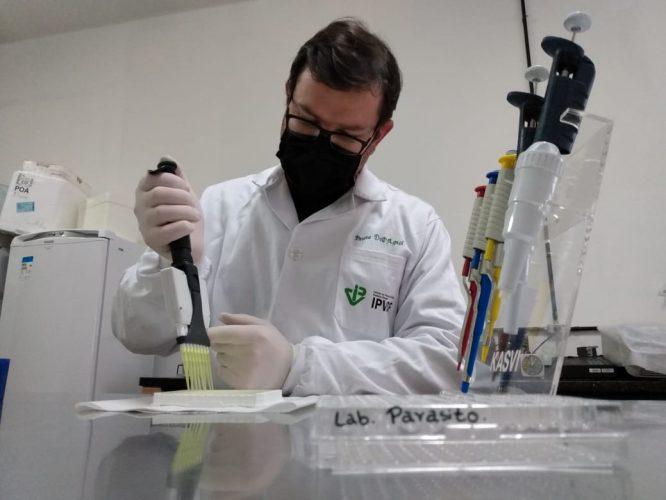 pesquisador Bruno DallAgnol